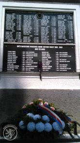 Pamětní deska obětem